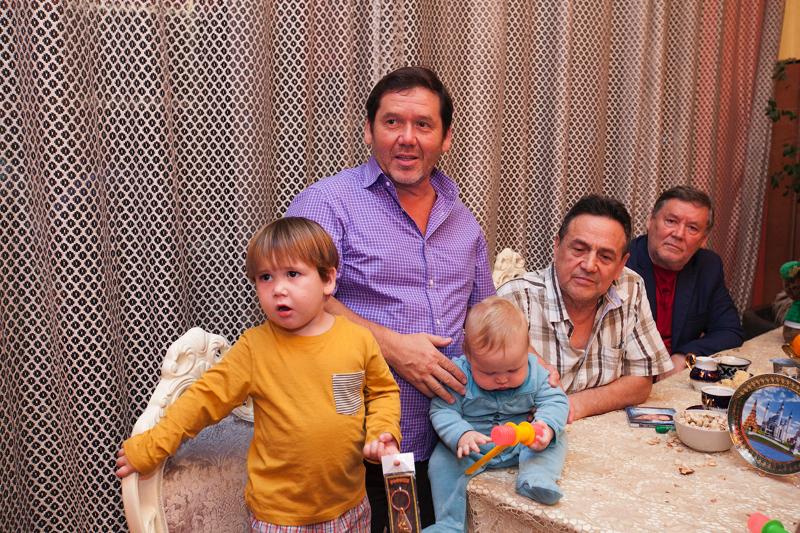 Семья и дети Рената Ибрагимова фото