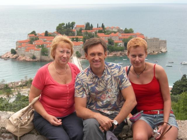 Семья и дети Сергея Дроботенко фото