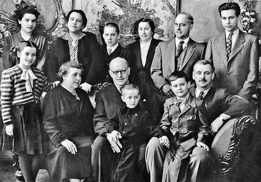 Семья и дети Сергея Михалкова фото