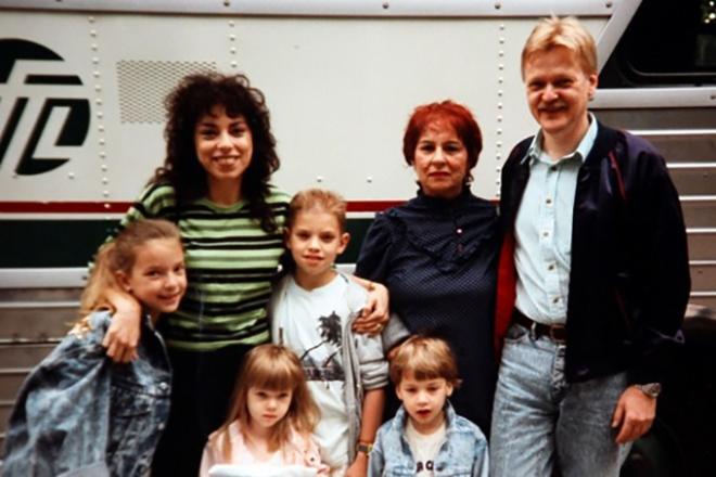 Семья и дети Скарлетт Йоханссон фото