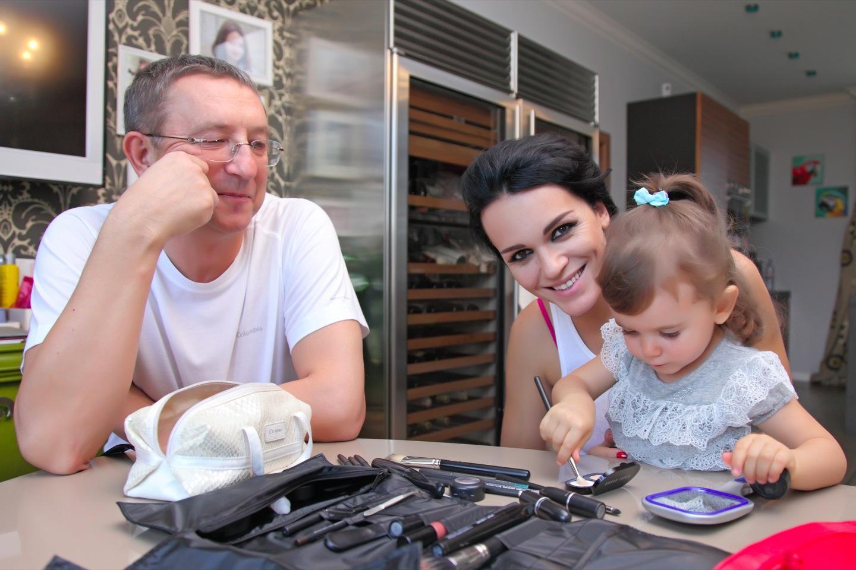 Семья и дети Славы (певица) фото