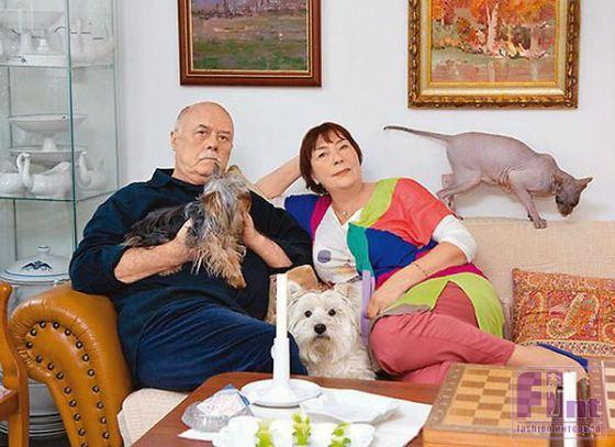 Семья и дети Станислава Говорухина фото