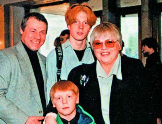Семья и дети Светланы Крючковой фото