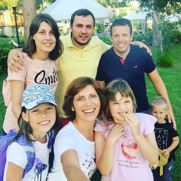 Семья и дети Светланы Зейналовой фото