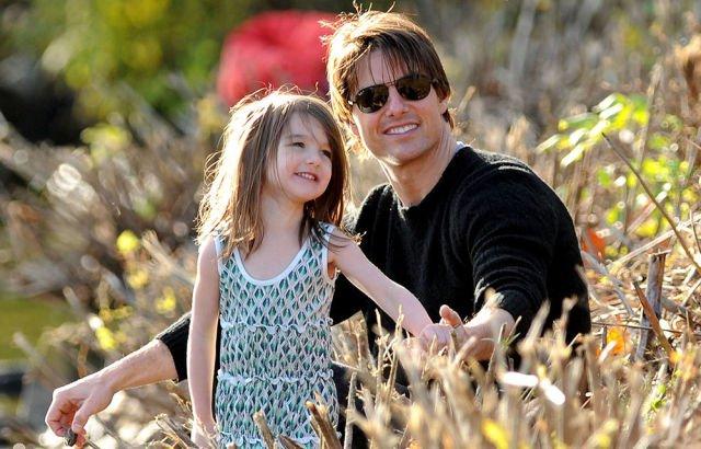 Семья и дети Тома Круза фото