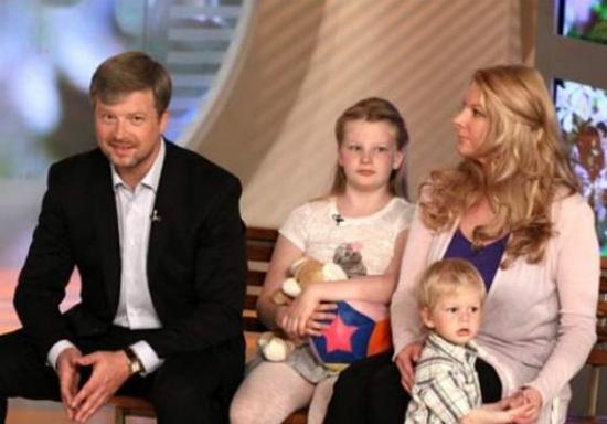 Семья и дети Валдиса Пельша фото