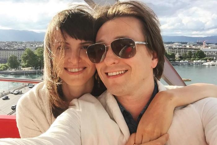 Сергей Безруков и Анна Матисон фото свадьбы