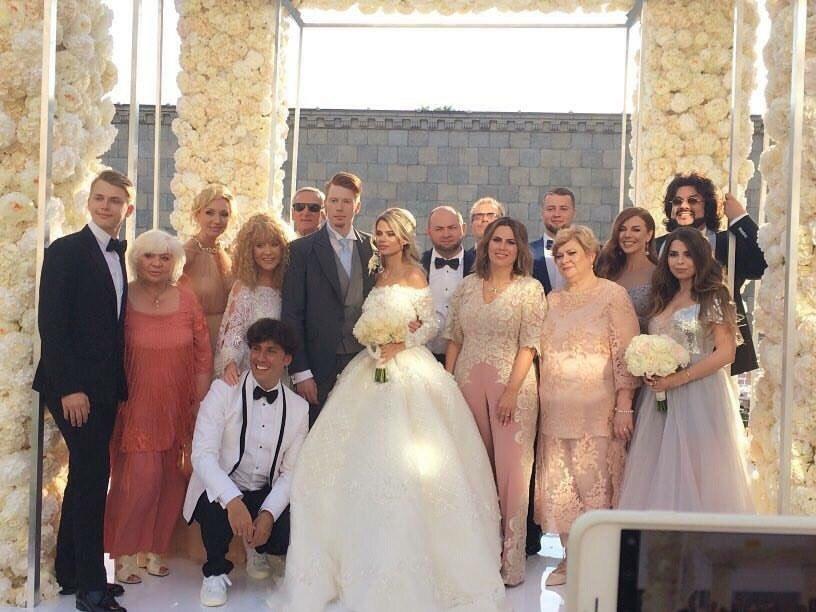 Свадьба Никиты Преснякова и Алены Красновой фото