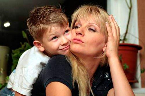 Сын Анны Ардовой – Антон фото