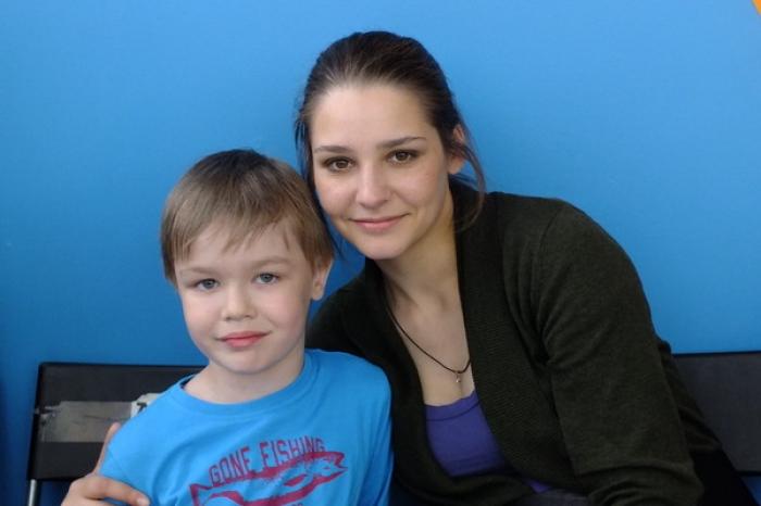 Сын Глафиры Тархановой – Корней фото
