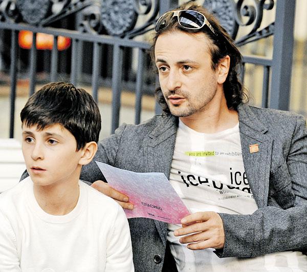 Сын Ильи Авербуха - Мартин фото