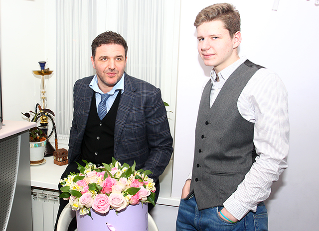 Сын Максима Виторгана – Даниил Виторган фото