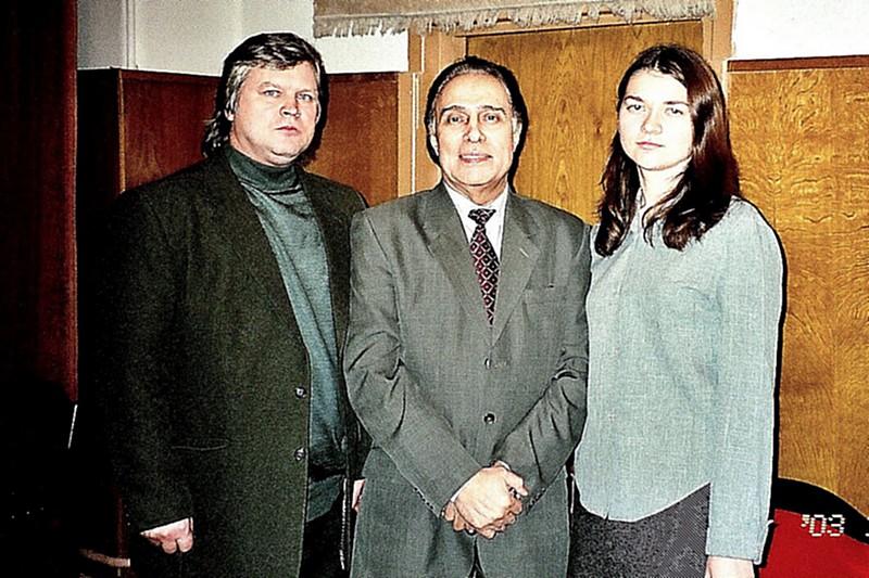 Сын Николая Сличенко – Алексей фото