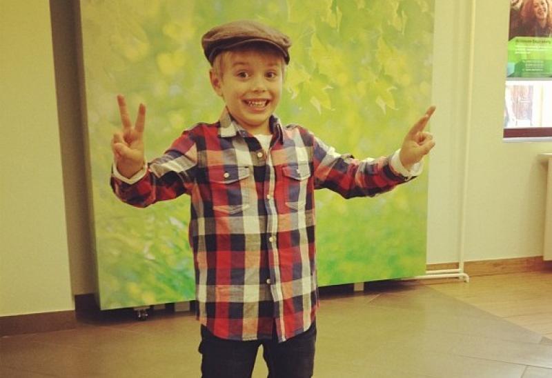 Сын Полины Гагариной – Андрей Кислов фото
