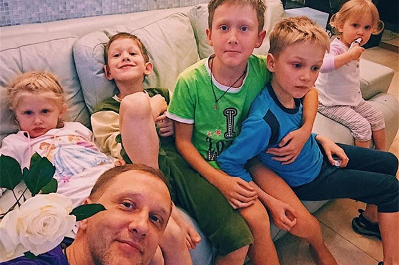 Сын Сергея Горобченко – Петр Горобченко фото