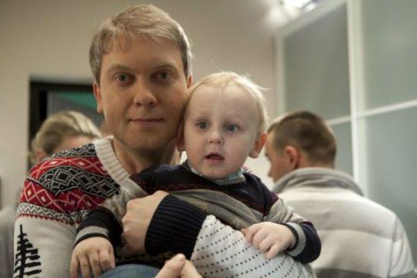 Сын Сергея Светлакова – Иван фото