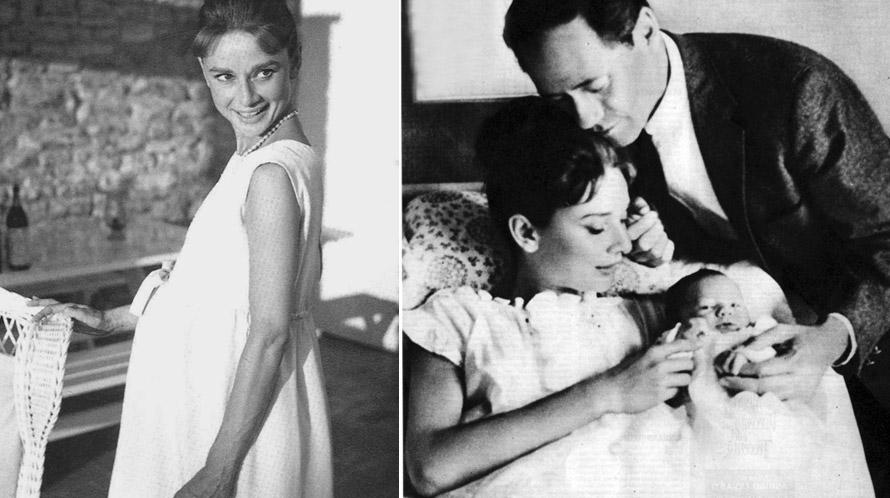 Внуки и Дети Одри Хепберн фото