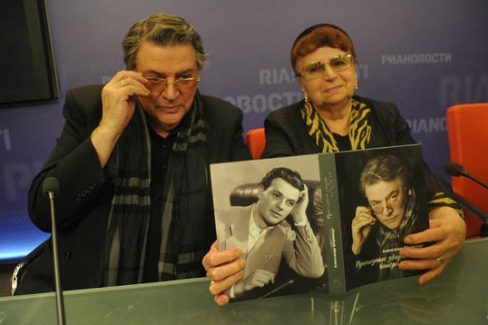 Жена Александра Ширвиндта – Белоусова Наталья фото