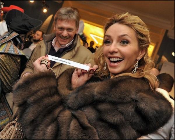 Жена Дмитрия Пескова – Татьяна Навка фото