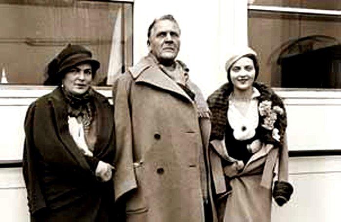 Жена Федора Шаляпина — Мария Петцольд фото