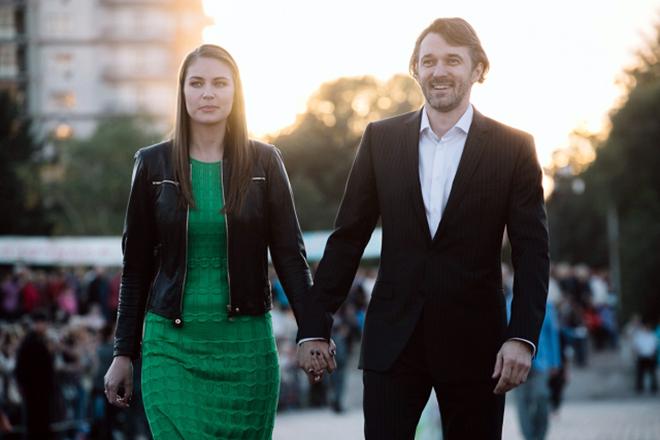 Жена Павла Трубинера – Юлия Мельникова фото