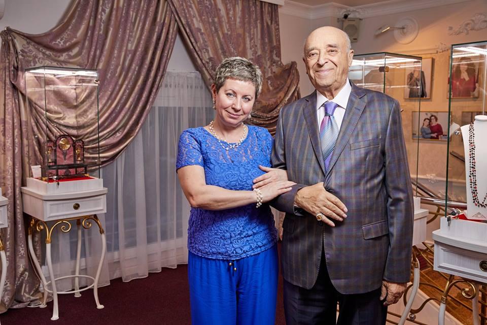 Жена Владимира Этуша – Елена Этуш фото