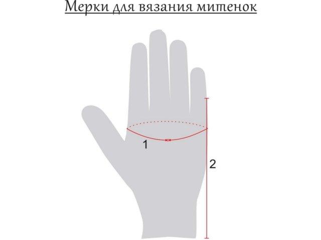 Митенки крючком - схемы с описанием для начинающих