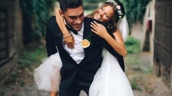 Сон жених и невеста