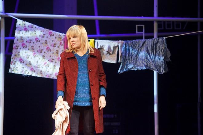 Александра Захарова в спектакле «Вальпургиева ночь»