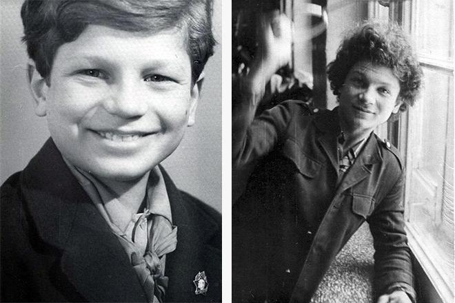 Сергей Минаев в детстве и юности