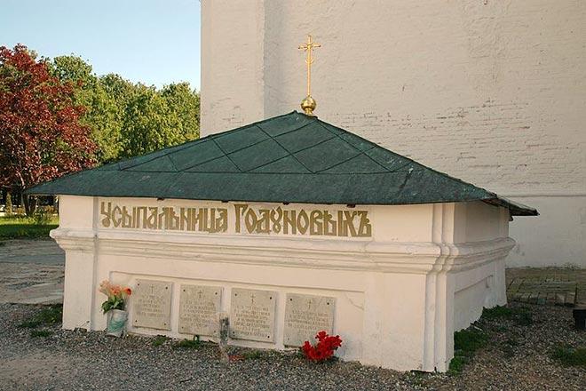 Могила Бориса Годунова