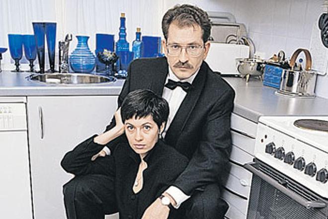Владислав Листьев и Альбина Назимова
