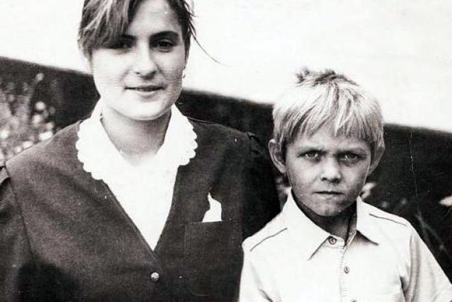 Александр Усик в детстве