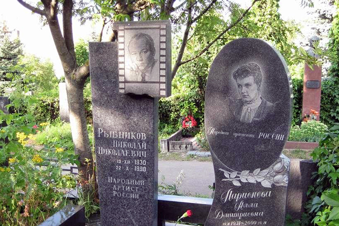 Могила Николая Рыбникова