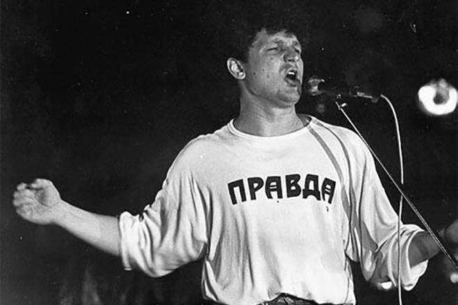 Сергей Минаев на сцене
