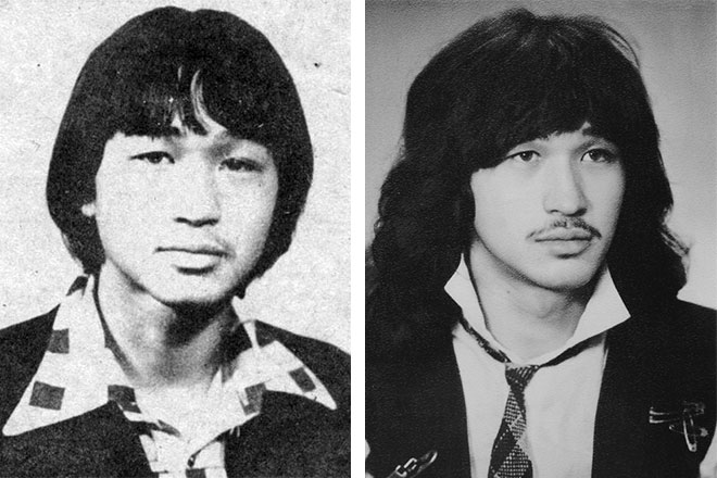 Виктор Цой в юности