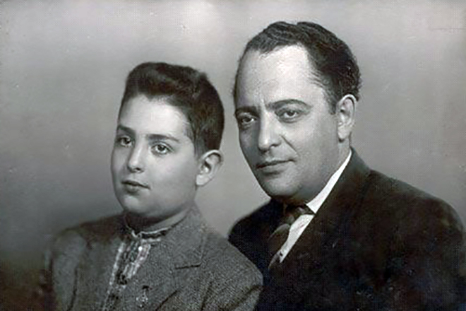 Михаил Шуфутинский с отцом