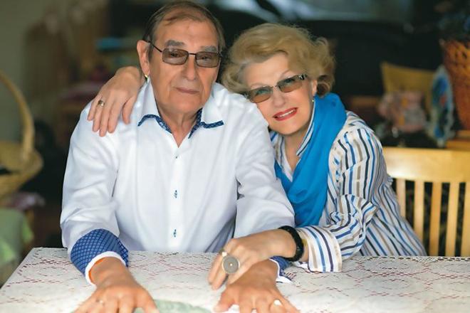 Светлана Дружинина и ее муж Анатолий Мукасей