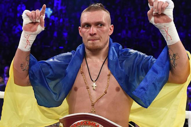 Боксер Александр Усик