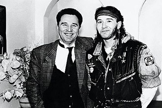 Вячеслав Зайцев и его сын Егор
