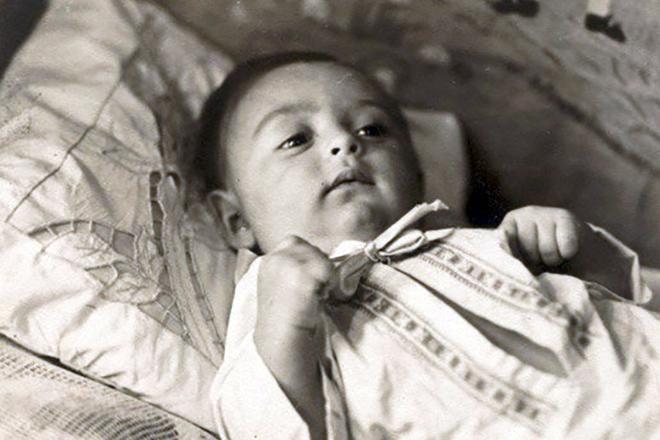 Михаил Шуфутинский в детстве