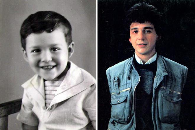 Игорь Саруханов в детстве и юности