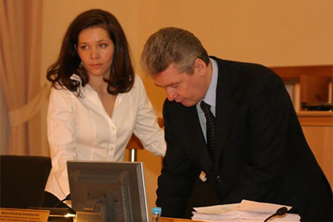 Сергей Собянин и Анастасия Ракова