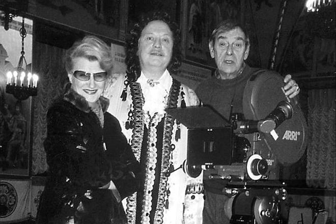 Светлана Дружинина на съемках сериала «Тайны дворцовых переворотов»