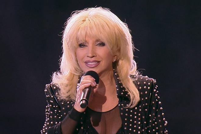 Ирина Аллегрова на сцене