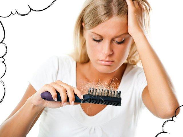 Сонник сильно выпадают волосы