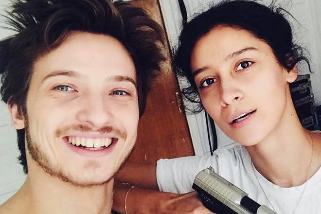 Равшана Куркова и ее муж Станислав Румянцев