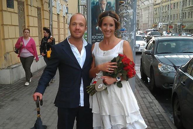 Евгений Стычкин с Ольгой Сутуловой
