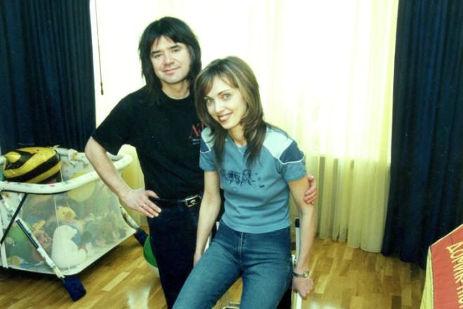 Евгений Осин с бывшей супругой Натальей