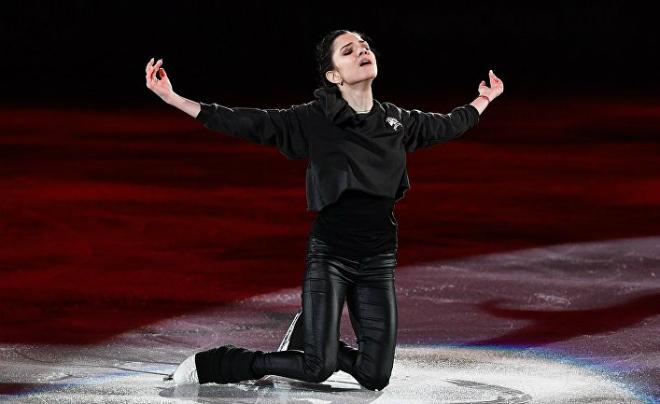 Евгения Медведева на Олимпиаде-2018